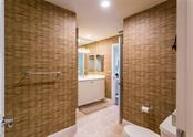 Jack & Jill Bathroom for 2nd & 3rd Bedrooms - Condo for sale at 1308 Old Stickney Point Rd #W24, Sarasota, FL 34242 - MLS Number is A4471155