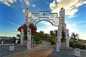 Entrance to Bayfront Park (and Marina Jack's) - Condo for sale at 1350 Main St #1408, Sarasota, FL 34236 - MLS Number is A4473576