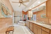 Master bath with custom