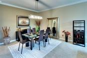 Chic Dining Room - Single Family Home for sale at 7739 Us Open Loop, Lakewood Ranch, FL 34202 - MLS Number is A4494156
