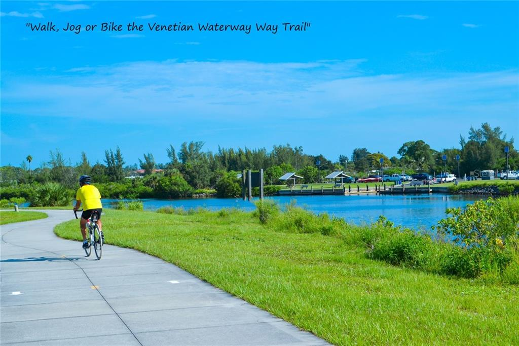 Venetian Waterway Trail on the Island of Venice - Single Family Home for sale at 830 The Esplanade N. #204, Venice, FL 34285 - MLS Number is N5909617