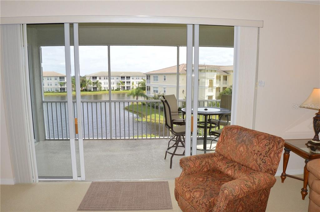 Lanai/View of Lake - Condo for sale at 1100 San Lino Cir #1134, Venice, FL 34292 - MLS Number is N5910364