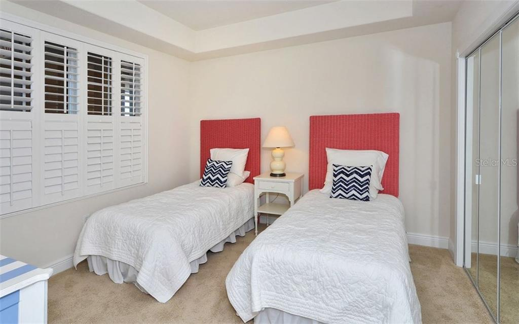 Guest Bedroom - Condo for sale at 157 Tampa Ave E #608, Venice, FL 34285 - MLS Number is N5912899