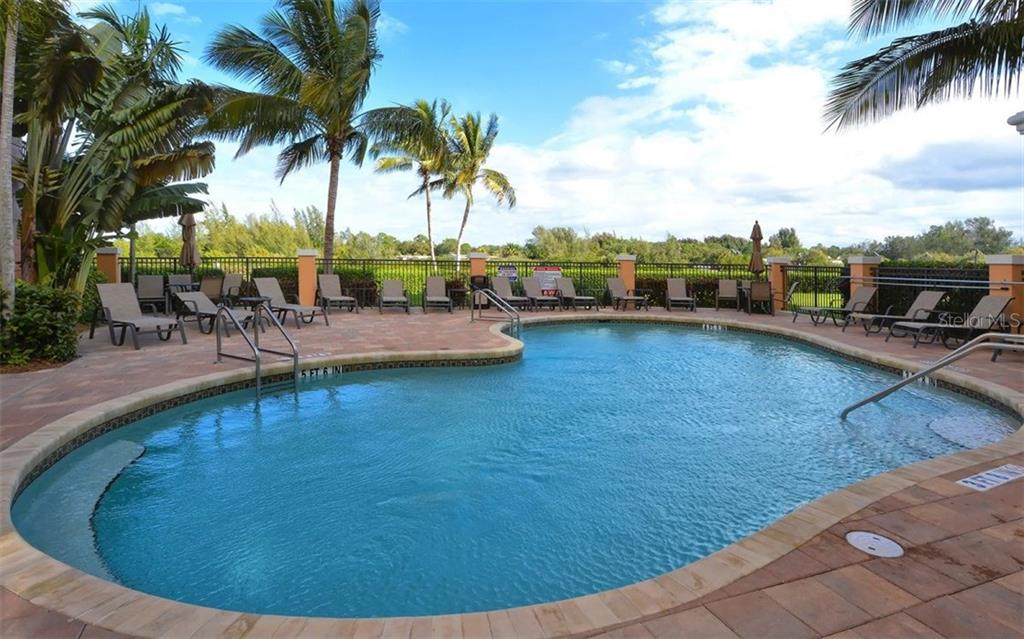 Community Pool - Condo for sale at 157 Tampa Ave E #608, Venice, FL 34285 - MLS Number is N5912899