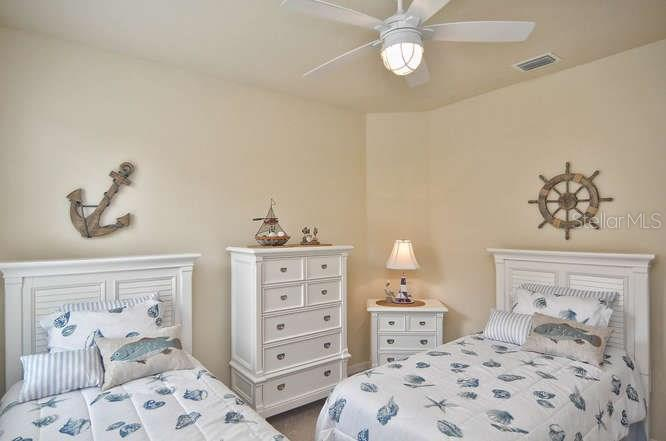 Third bedroom - Single Family Home for sale at 13210 Amerigo Ln, Venice, FL 34293 - MLS Number is N5913012