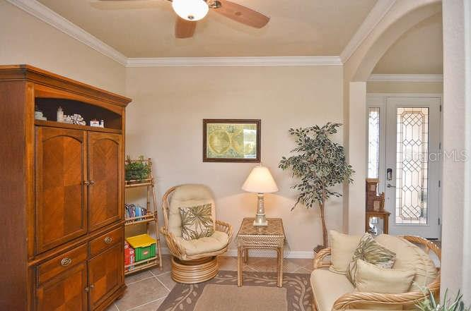 Dining Room used as conversation or Family room. - Single Family Home for sale at 13210 Amerigo Ln, Venice, FL 34293 - MLS Number is N5913012