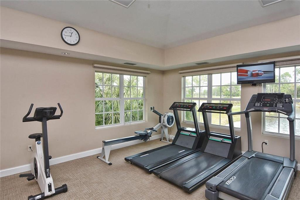 Fitness - Single Family Home for sale at 293 Marsh Creek Rd, Venice, FL 34292 - MLS Number is N5914238