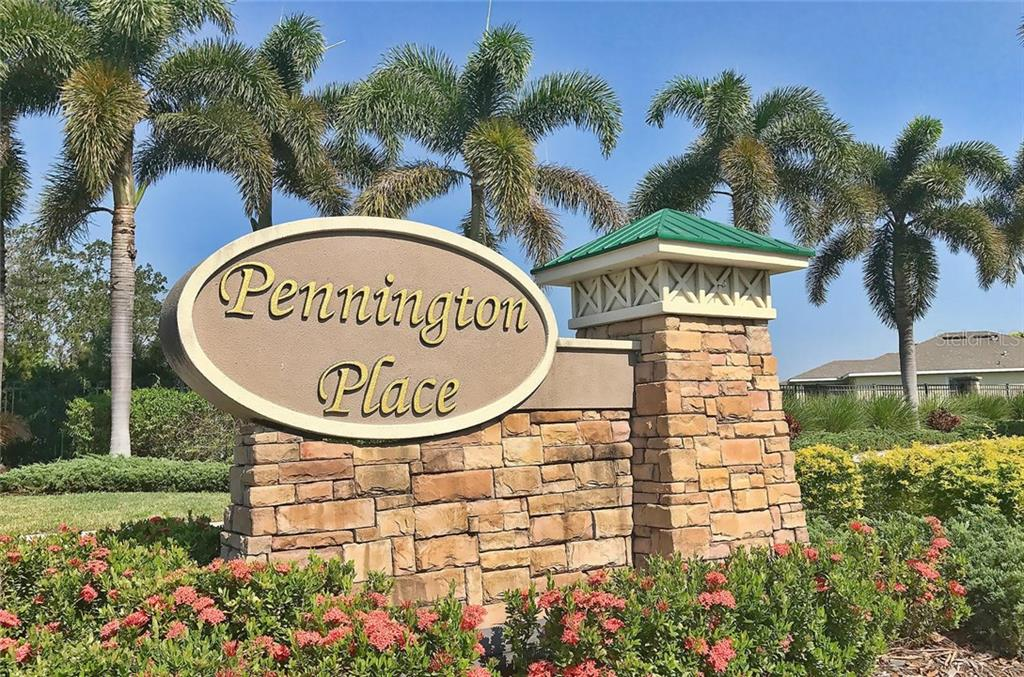 Community sign - Single Family Home for sale at 9124 Coachman Dr, Venice, FL 34293 - MLS Number is N5914408