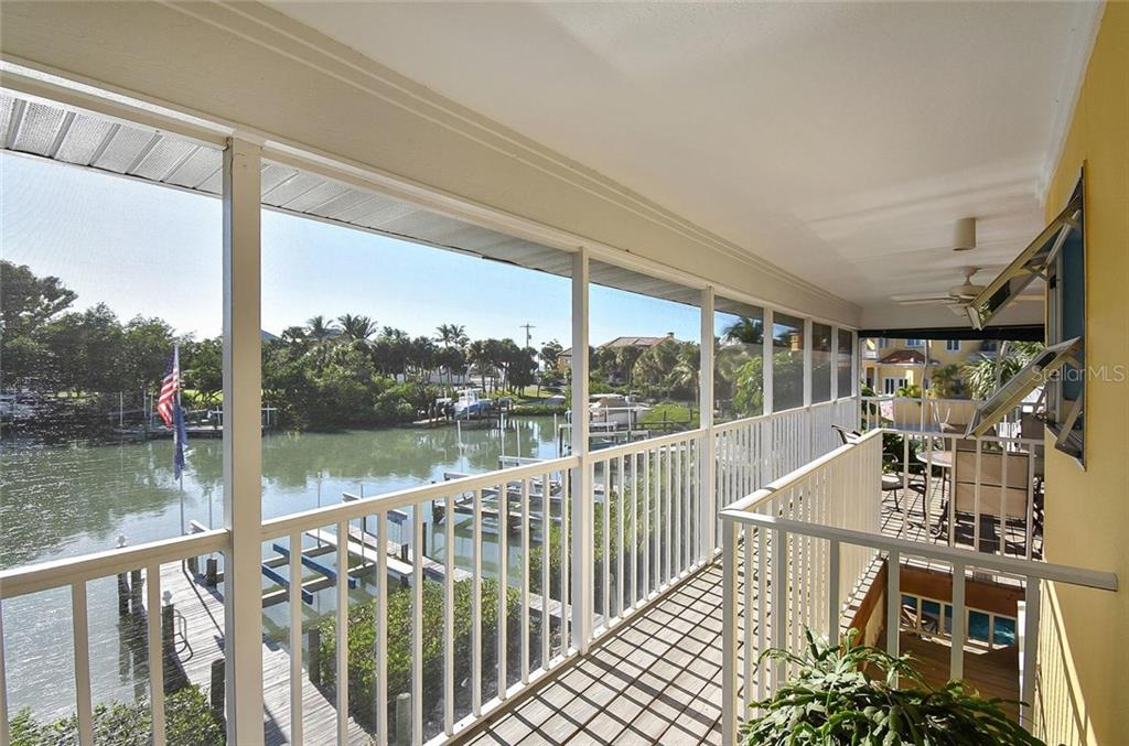 Lanai/view - Single Family Home for sale at 910 Casey Cove Dr, Nokomis, FL 34275 - MLS Number is N5915385