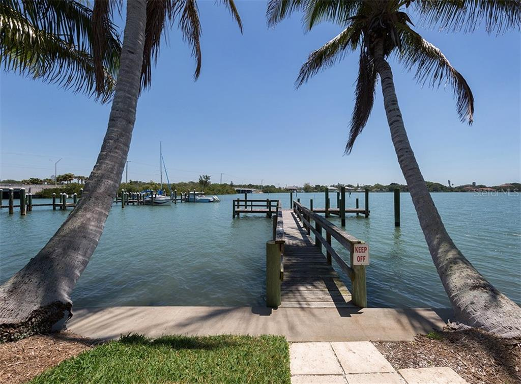Dock/Water View - Single Family Home for sale at 199 Bayview Pkwy, Nokomis, FL 34275 - MLS Number is N6100311