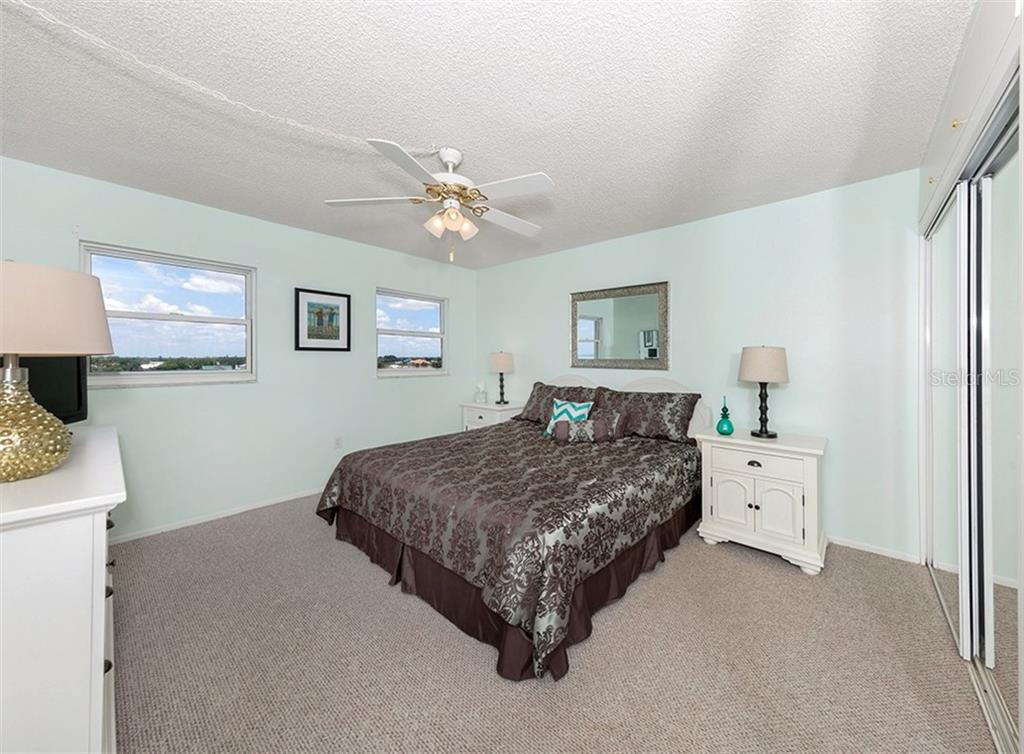 Spacious Guest Bedroom - Condo for sale at 1255 Tarpon Center Dr #606, Venice, FL 34285 - MLS Number is N6100568