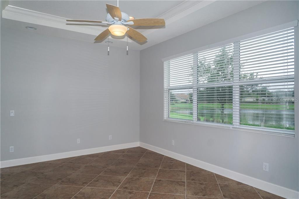Master Bedroom has Lake View - Single Family Home for sale at 2290 Terracina Dr, Venice, FL 34292 - MLS Number is N6101301