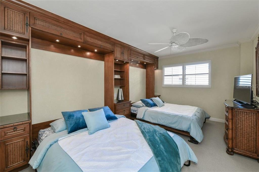 2ND BEDROOM WITH 2 MURPHY BEDS - Condo for sale at 5740 Midnight Pass Rd #505 F, Sarasota, FL 34242 - MLS Number is N6102195