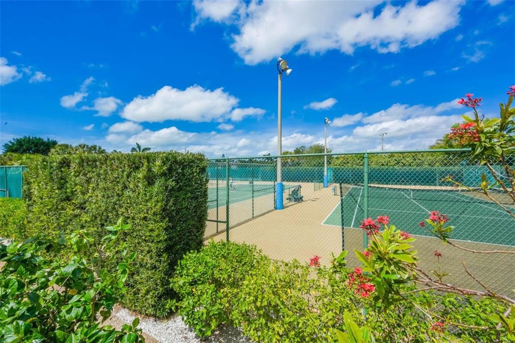 TENNIS COURTS - Condo for sale at 5740 Midnight Pass Rd #505 F, Sarasota, FL 34242 - MLS Number is N6102195