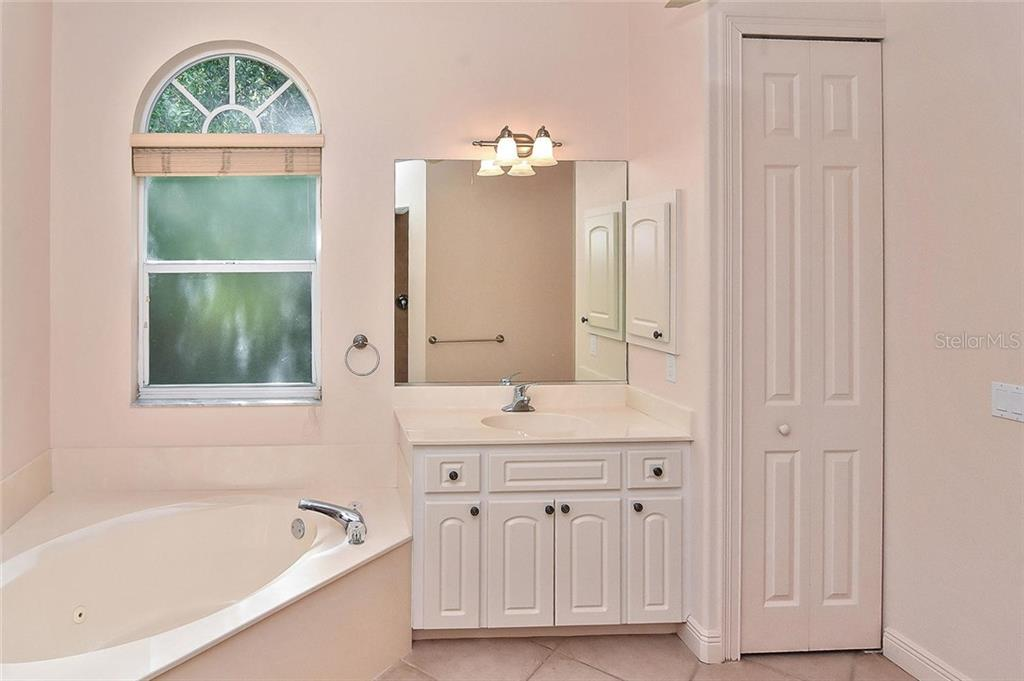 Master Bath - Single Family Home for sale at 1709 Hudson St, Englewood, FL 34223 - MLS Number is N6106345