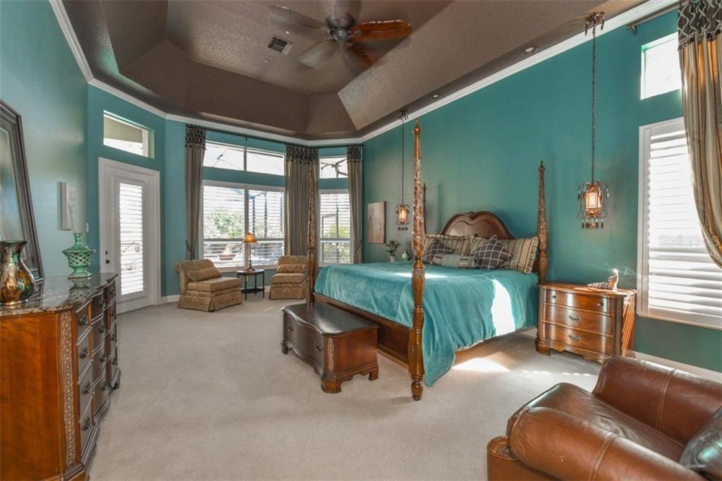 Master bedroom - Single Family Home for sale at 854 Macewen Dr, Osprey, FL 34229 - MLS Number is N6106697
