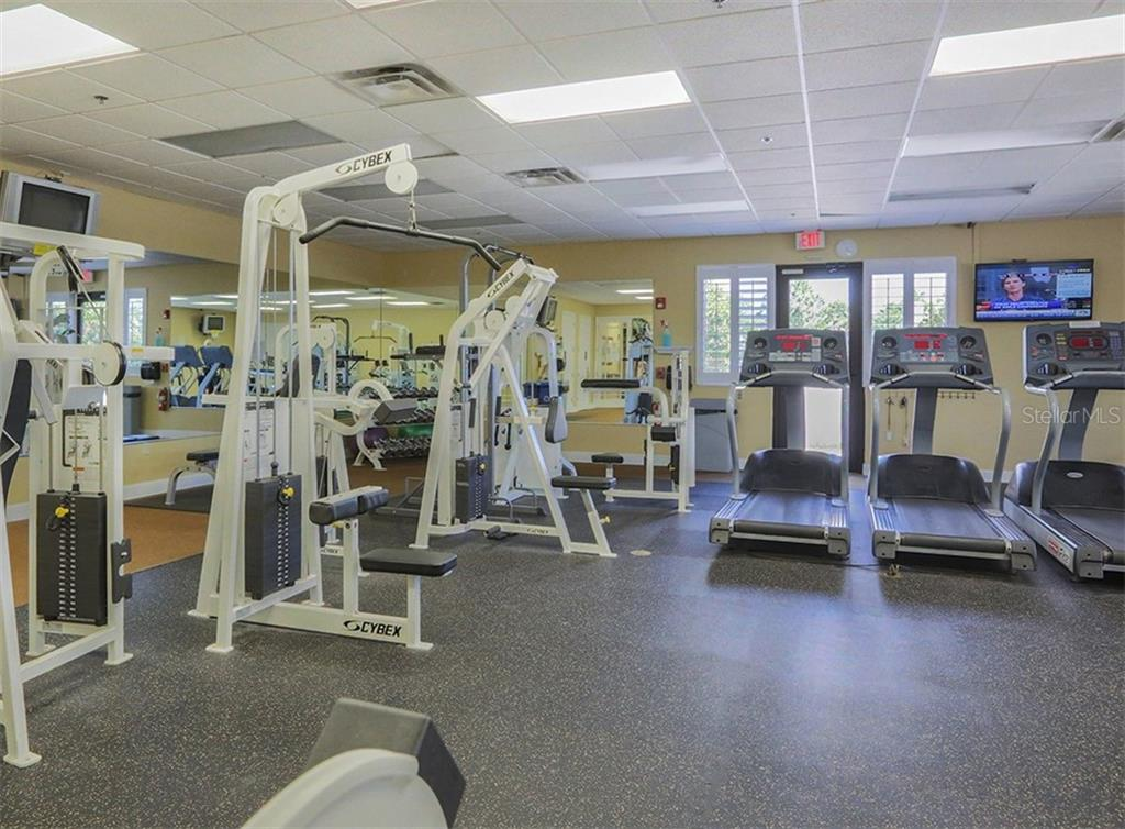 Fitness Center - Single Family Home for sale at 11670 Tempest Harbor Loop, Venice, FL 34292 - MLS Number is N6106791