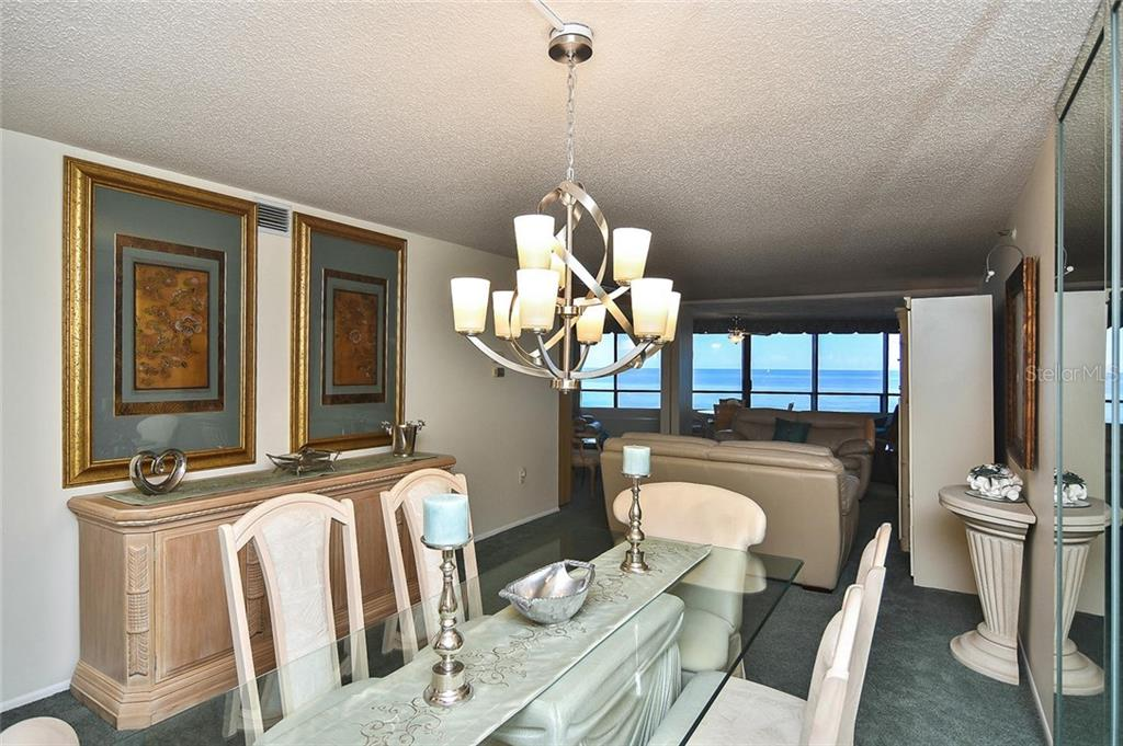 Dining room to living room - Condo for sale at 840 The Esplanade N #704, Venice, FL 34285 - MLS Number is N6107071