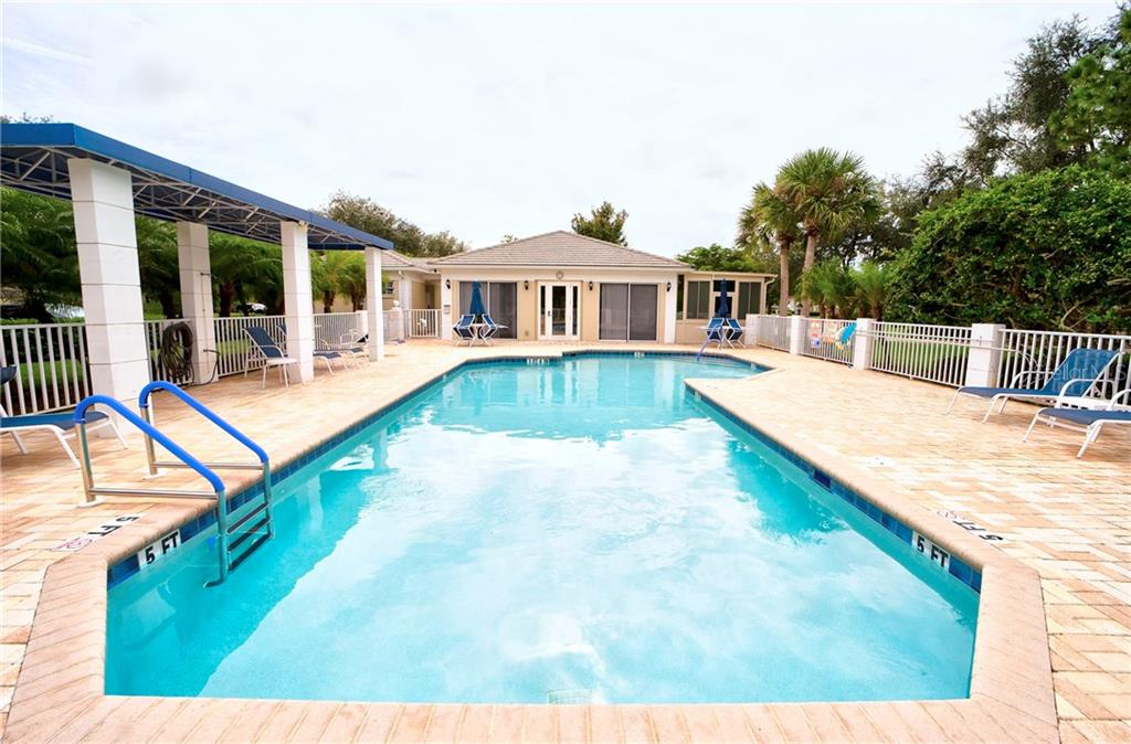 Heated Pool & Clubhouse - Condo for sale at 815 Montrose Dr #101, Venice, FL 34293 - MLS Number is N6107969