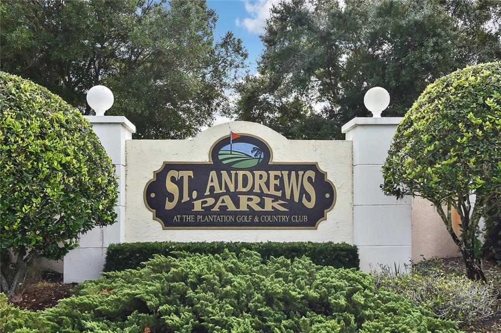 St Andrews Sign - Condo for sale at 817 Montrose Dr #204, Venice, FL 34293 - MLS Number is N6108125