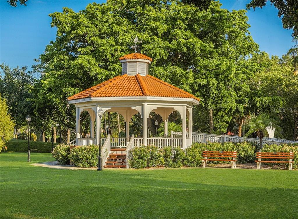 Gazebo Centennial Park - Single Family Home for sale at 500 Harbor Dr S, Venice, FL 34285 - MLS Number is N6108518