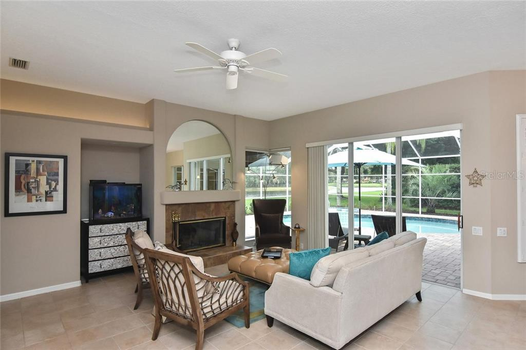 Great views from the family room - Single Family Home for sale at 7185 N Serenoa Dr, Sarasota, FL 34241 - MLS Number is N6109058