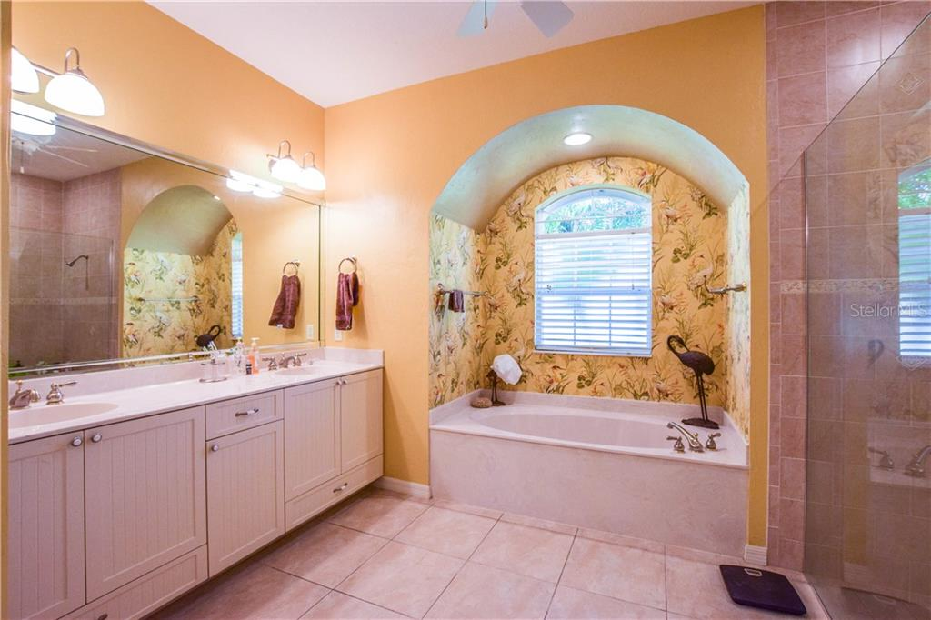Master bathroom. - Single Family Home for sale at 2560 Pebble Creek Pl, Port Charlotte, FL 33948 - MLS Number is N6109100