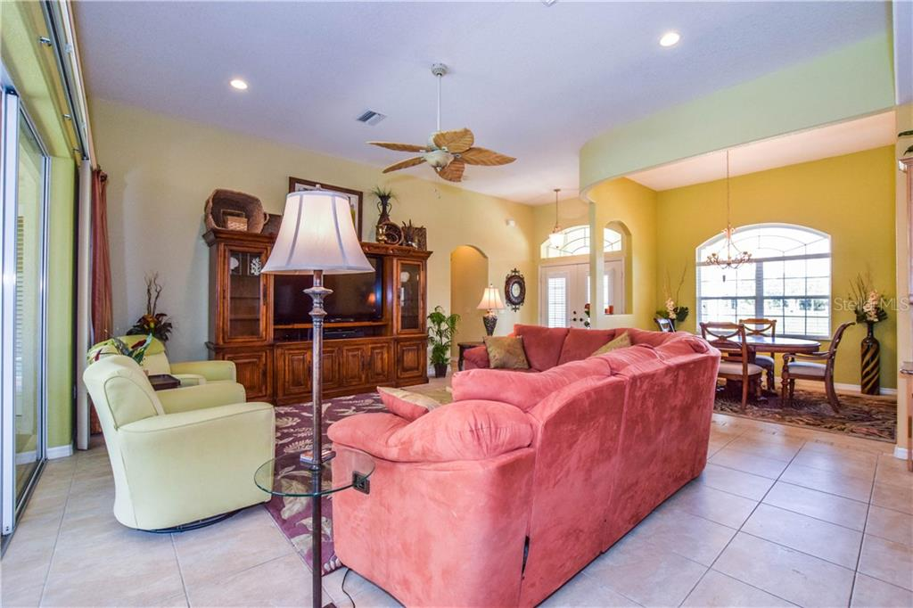 View of great looking back at foyer. - Single Family Home for sale at 2560 Pebble Creek Pl, Port Charlotte, FL 33948 - MLS Number is N6109100