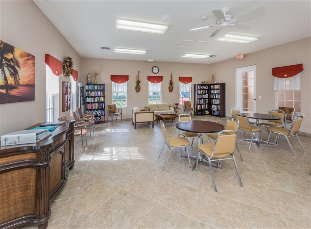 Community Center/Interior - Single Family Home for sale at 5417 Layton Dr, Venice, FL 34293 - MLS Number is N6109503