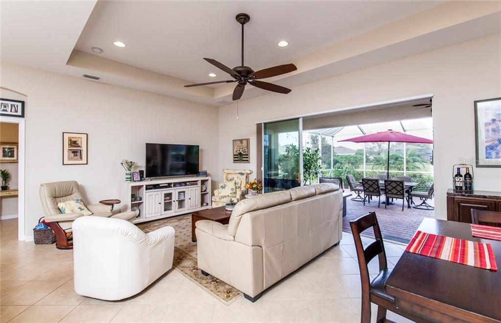Great Room - Single Family Home for sale at 5392 Layton Dr, Venice, FL 34293 - MLS Number is N6109506