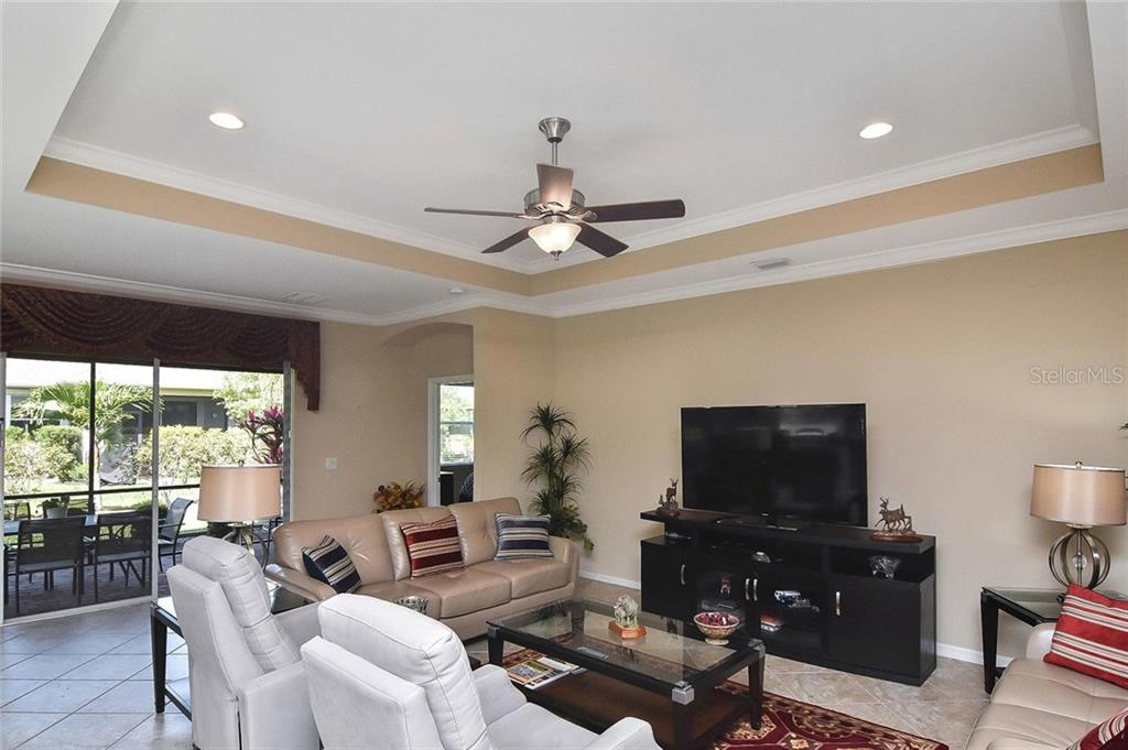 Great room - Single Family Home for sale at 5093 Layton Dr, Venice, FL 34293 - MLS Number is N6109788