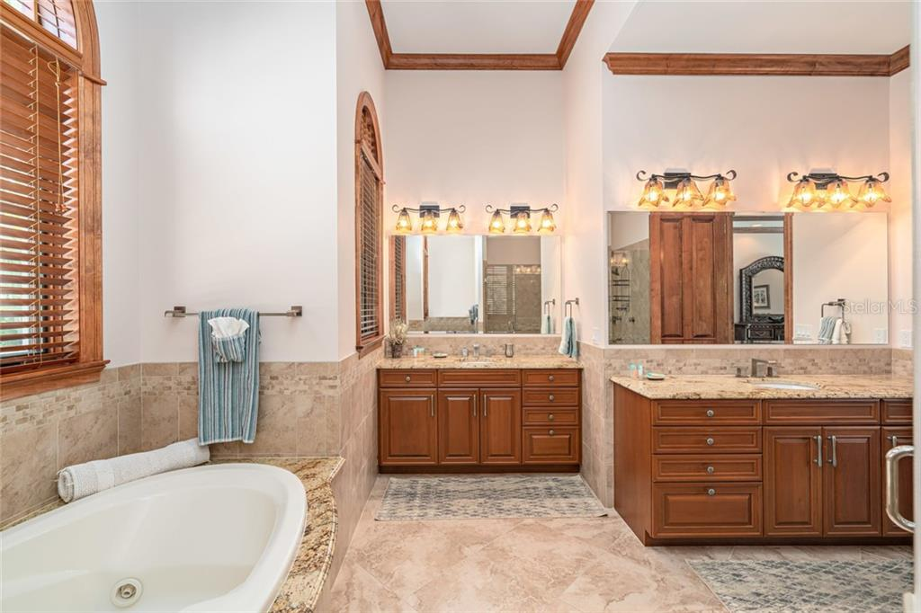 First Floor Master Bath - Single Family Home for sale at 510 Bowsprit Ln, Longboat Key, FL 34228 - MLS Number is N6110334