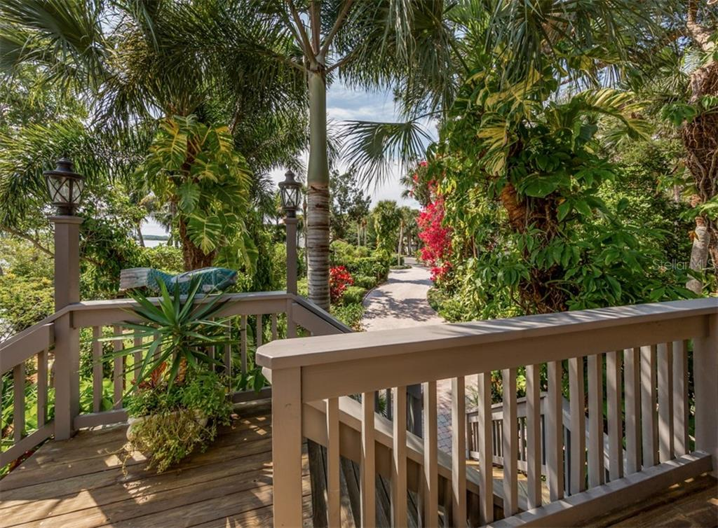 Main house balcony - Single Family Home for sale at 2208 Casey Key Rd, Nokomis, FL 34275 - MLS Number is N6110959