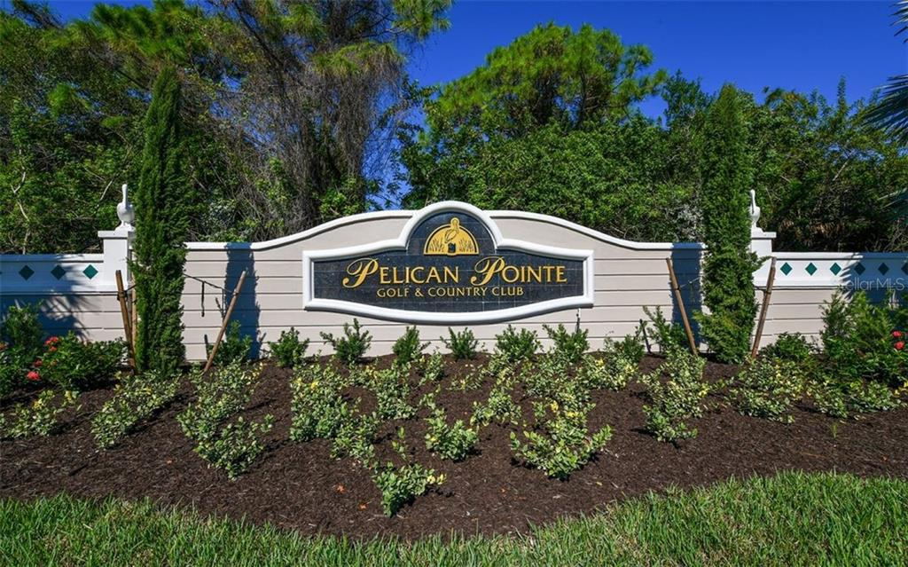 Entrance monument - Single Family Home for sale at 953 Chickadee Dr, Venice, FL 34285 - MLS Number is N6111180