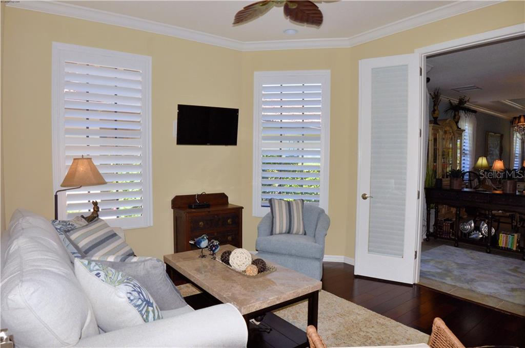 Bedroom 3/den - Villa for sale at 20117 Tesoro Dr, Venice, FL 34293 - MLS Number is N6111641