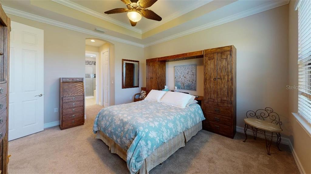 MASTER BEDROOM - Single Family Home for sale at 1051 Bradberry Dr, Nokomis, FL 34275 - MLS Number is N6112687