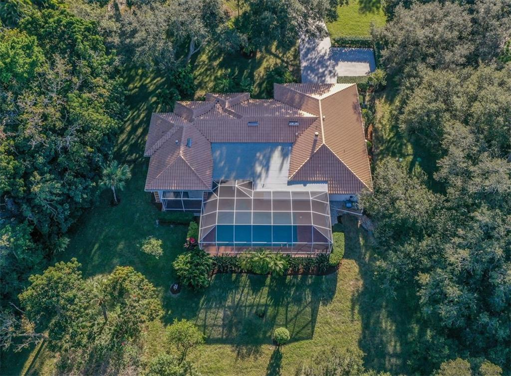 Aerial - Single Family Home for sale at 1321 Guilford Dr, Venice, FL 34292 - MLS Number is N6113272