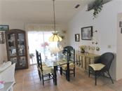 Dining Room - Villa for sale at 809 Harrington Lake Dr N #78, Venice, FL 34293 - MLS Number is N5913353