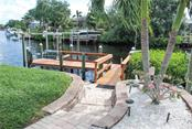 Boat dock - Single Family Home for sale at 600 Portia St N, Nokomis, FL 34275 - MLS Number is N5914547