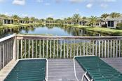 View from pool - Villa for sale at 1720 Fountain View Cir, Venice, FL 34292 - MLS Number is N6101363