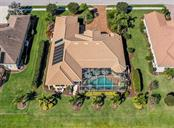 Aerial rear elevation - Single Family Home for sale at 19799 Cobblestone Cir, Venice, FL 34292 - MLS Number is N6104694