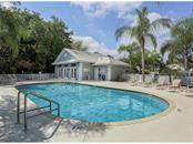 CLUBSIDE VILLAS POOL AND CLUBHOUSE, JUST DOWN THE STREET - Villa for sale at 572 Clubside Cir #34, Venice, FL 34293 - MLS Number is N6105221