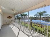 Lanai with water view - Condo for sale at 891 Norwalk Dr #205, Venice, FL 34292 - MLS Number is N6108169
