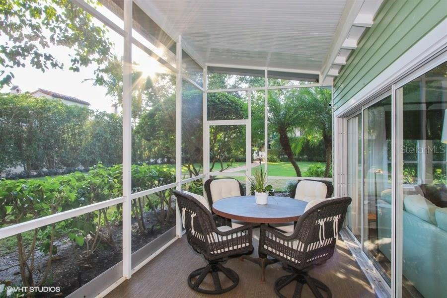 Screened porch off guest house - Single Family Home for sale at 161 & 181 Gilchrist Ave, Boca Grande, FL 33921 - MLS Number is D5915030