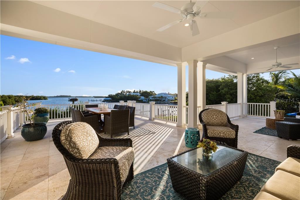 Soak in the views from the upper terrace - Single Family Home for sale at 1600 E Railroad Ave, Boca Grande, FL 33921 - MLS Number is D6108744