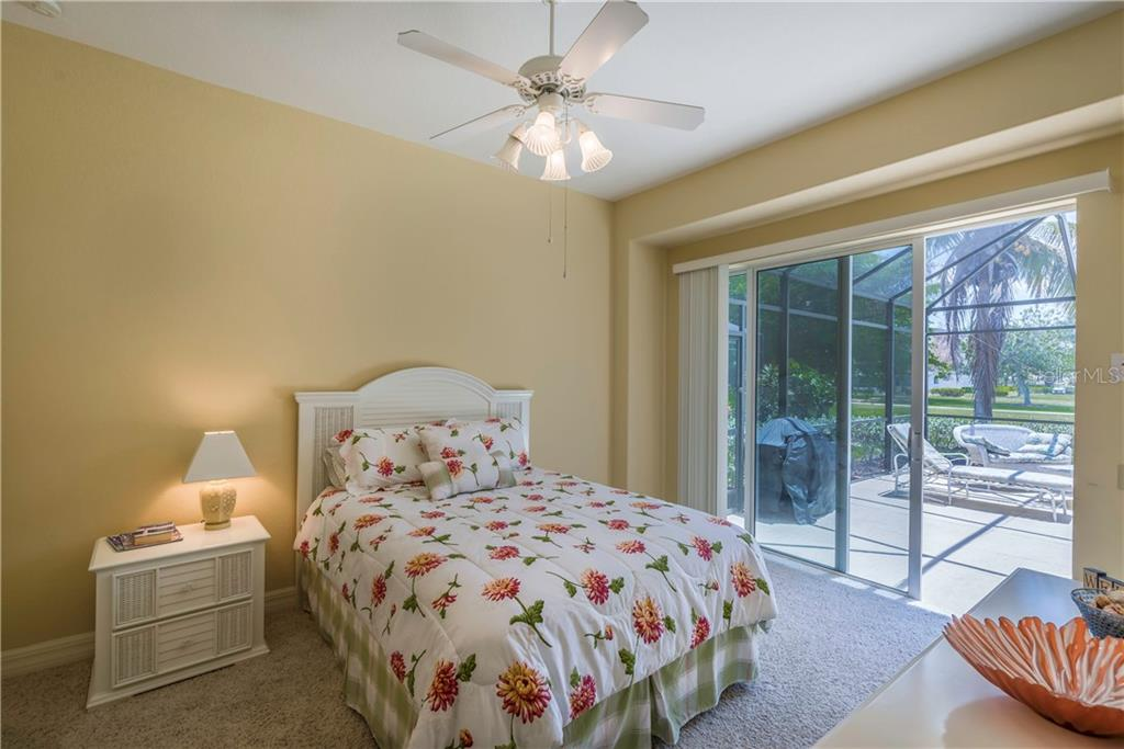 Second bedroom offers direct pool access. - Single Family Home for sale at 931 Linkside Way, Punta Gorda, FL 33955 - MLS Number is C7400849