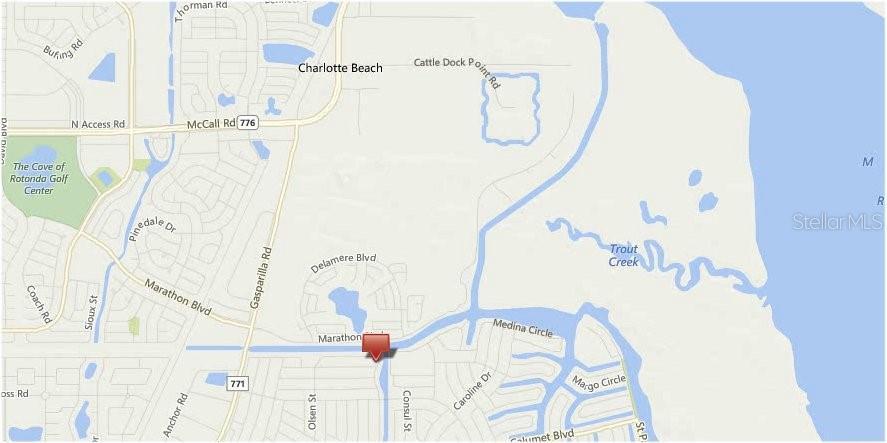 Map Of Port Charlotte Florida.14250 Wenzel Ave Port Charlotte Fl 33981 Mls C7405673