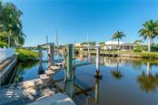 10K Boat Lift on one of two docks - Single Family Home for sale at 1309 Casey Key Dr, Punta Gorda, FL 33950 - MLS Number is C7413790