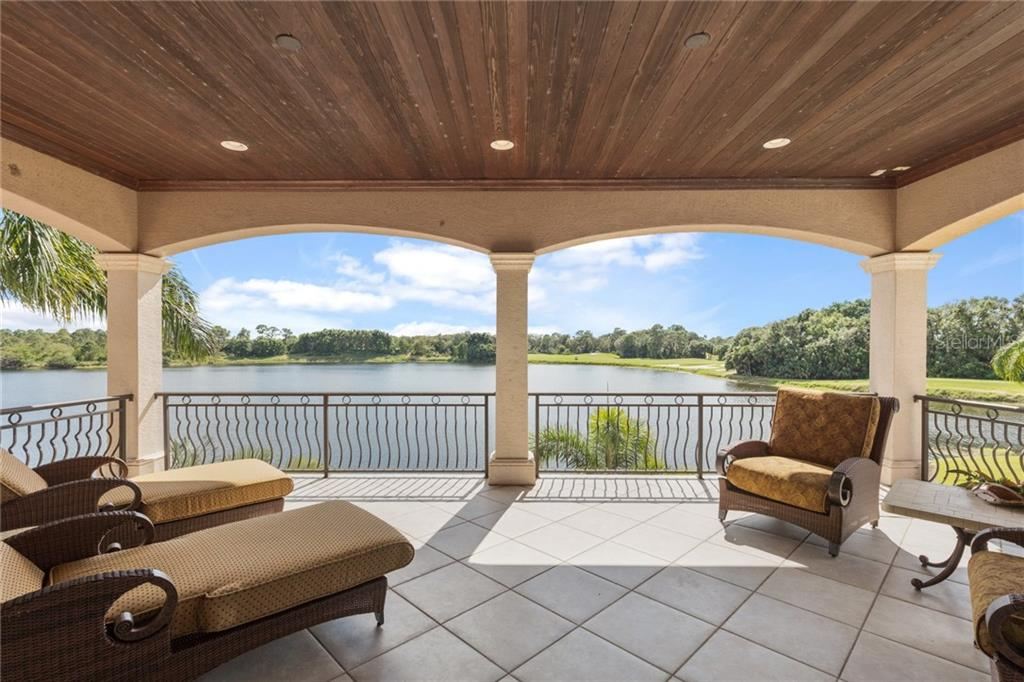 What a view from the upstairs balcony just off the game room! - Single Family Home for sale at 7320 Barclay Ct, University Park, FL 34201 - MLS Number is A4200908