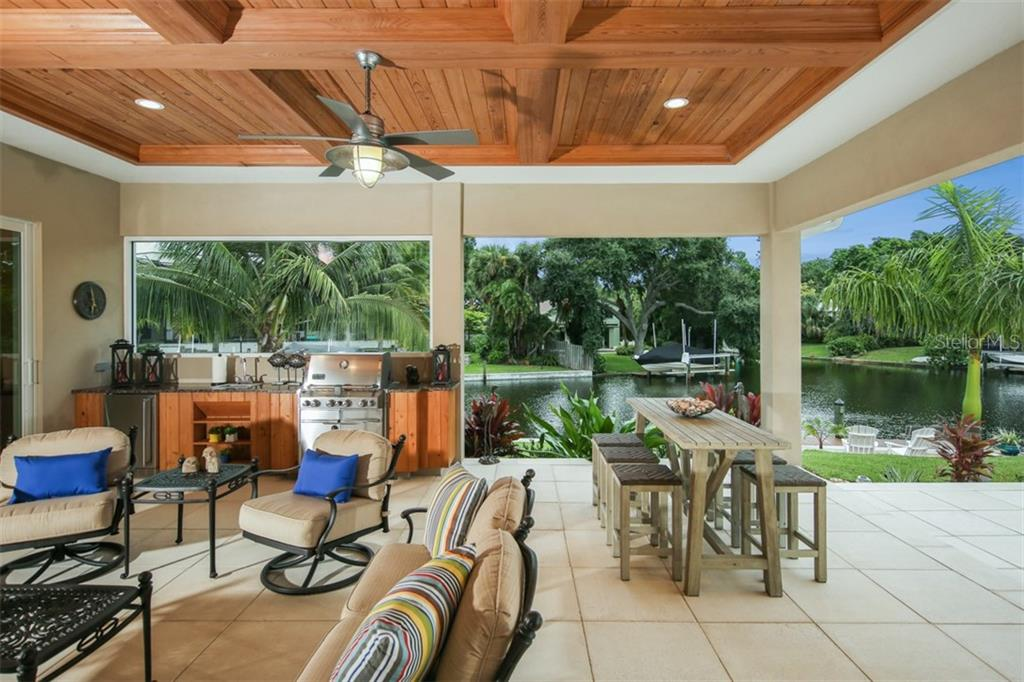 Outdoor Kitchen - Single Family Home for sale at 4847 Primrose Path, Sarasota, FL 34242 - MLS Number is A4415116
